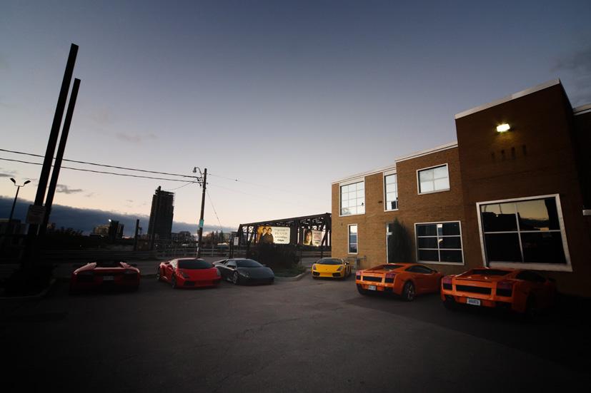 Lamborghini Trackday 2008
